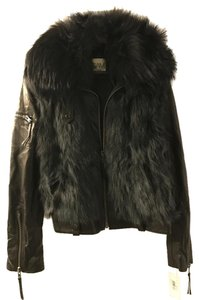 Other Fur Vest Leather Jacket