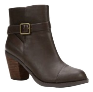 Ann Taylor LOFT Leather Brown Boots