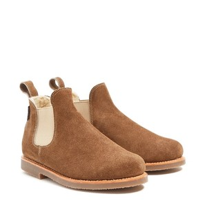 Penelope Chilvers Shealing Suede Crepe Brown Boots