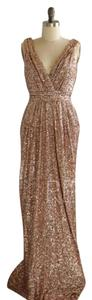 Bagdley Mischka Sequins Dress