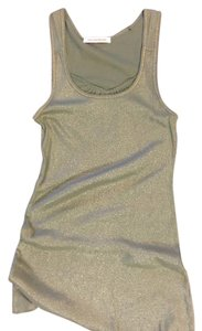 Love by Design Top Olive Green and Gold