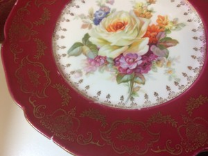 Antique Baronet Plates 12 Total 3 Colors