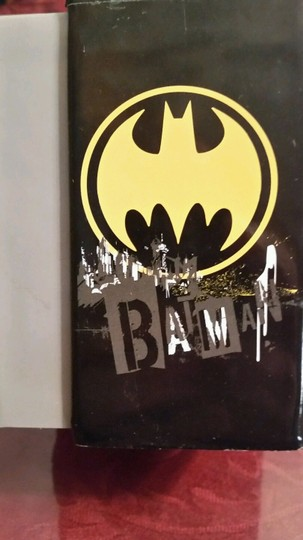 DC Comics New BATMAN DC Comics Gold & Black tone Watch Batman face in Bat Logo Image 2