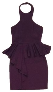 Sylk short dress Purple. Plum. on Tradesy