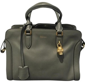 Alexander McQueen Satchel in Grey