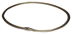 Milor Milor Sterling Silver 925 Made In Italy Choker Necklace