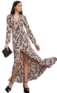 Floral China Rose Maxi Dress by Reformation Maxi Longsleeve