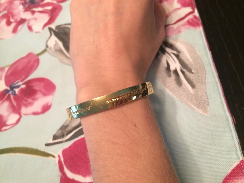 Kate Spade Gold Best Friend Bangle Bracelet Tradesy