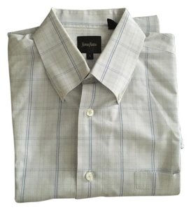 Neiman Marcus Men Other Shirt Stripe Groom Button Down Shirt