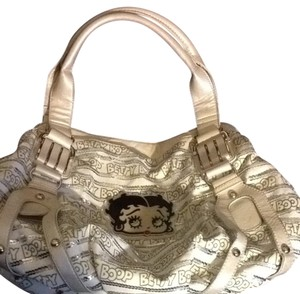 Betty Boop Satchel in Ivory