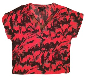 Calvin Klein Top Red and Black