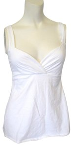 Victoria's Secret Bra Surplice Top White