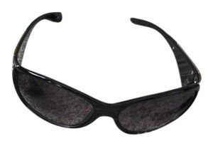 Lane Bryant Lane Bryant Black Accented with Silvertone Sunglasses