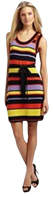 Preload https://img-static.tradesy.com/item/1953837/milly-multi-color-sweater-knit-ric-rac-striped-nautical-stripes-knee-length-workoffice-dress-size-4-0-0-650-650.jpg