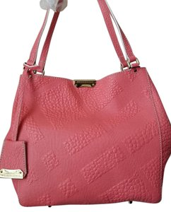 Burberry Pink Canterbury Tote in Rose Pink