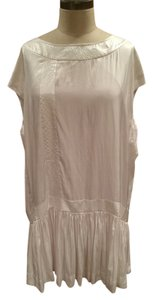 AllSaints short dress White Silk All Spitalfields Silk on Tradesy