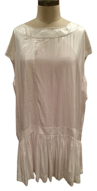 AllSaints short dress White Silk Spitalfields on Tradesy