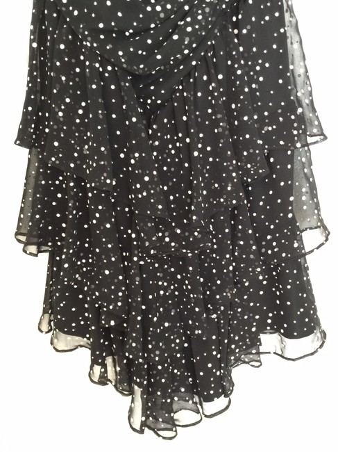 Other Cocktail Size 6 Polka Dot Ruffled Summer Dress Image 1