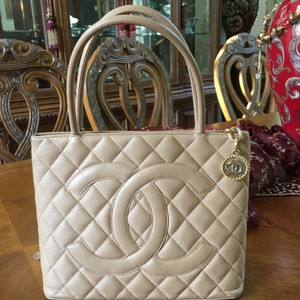 Chanel Tote in Tan