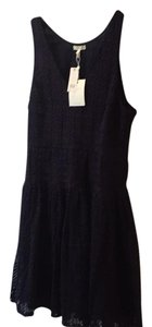 Joie short dress Dark Navy on Tradesy