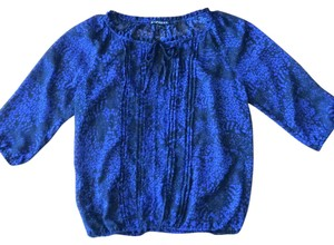 Express Top Black Blue