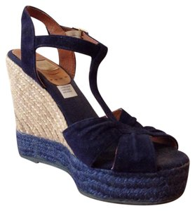 Kanna Navy Wedges