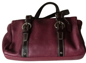 Coach Satchel in Purple