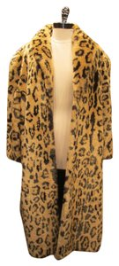 Other Vintage Faux Fur Cheetah Fur Coat