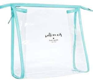 Kate Spade Walk On Air Clear PVC Makeup Toiletry Bag Pouch