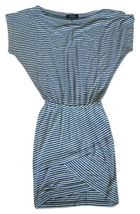Robert Rodriguez short dress Black & Gray Stripe Date Night on Tradesy
