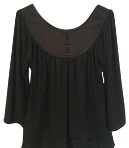 BCBGMAXAZRIA Top Dark blue