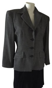 DKNY Black White Suit Jacket DKNY