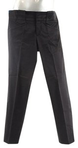 Gucci Cotton Stretch Straight Pants Black