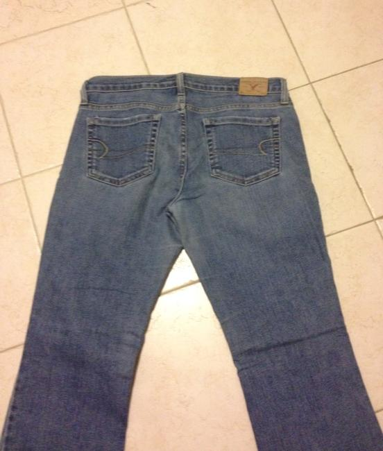 American Eagle Outfitters 27' Small Flare Leg Jeans-Medium Wash