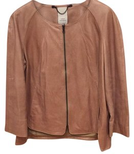 Robert Rodriguez Tan Leather Jacket