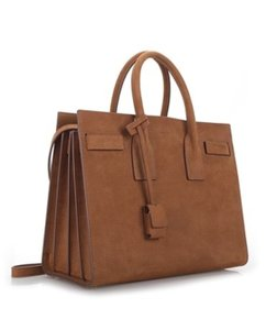 Saint Laurent Sac De Jour Tote in brown