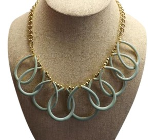Mint Green Necklace Really Nice Loop Over Mint Green Design!