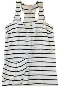 Gemma short dress Navy White Stripe on Tradesy
