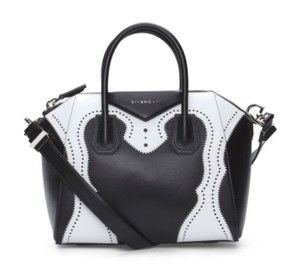 Givenchy Rockstud Tote in Black and White