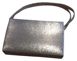 Stephanie Silver Clutch