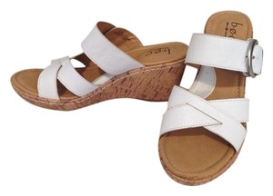 B.O.C. Wedge Sandal White Wedges