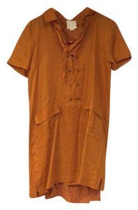 Anthropologie short dress Burnt orange /rust on Tradesy