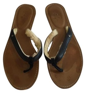 UGG Australia Ugg Ugg Flip Flops Flip Flops Ugg Black and brown Sandals