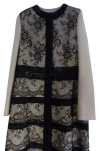 Valentino Wool Lace Coat