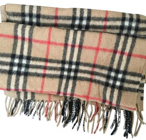 Authentic Burberry Cashmere Scarf Cape