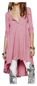 Plus Maternity Hi Low Dress Tunic