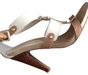 Nine West Bone and tan Sandals