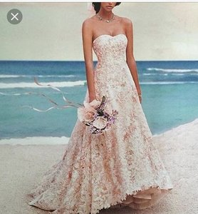 Oleg Cassini Wg617 Wedding Dress