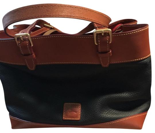 Dooney & Bourke Tote in Black and Brown