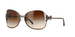 Chanel New Chanel 4180 Brown Butteryfly Bow-tie Women's Sunglasses